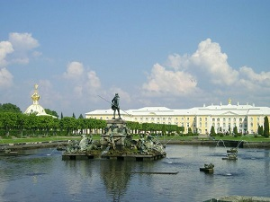 Grand palais de Peterhof